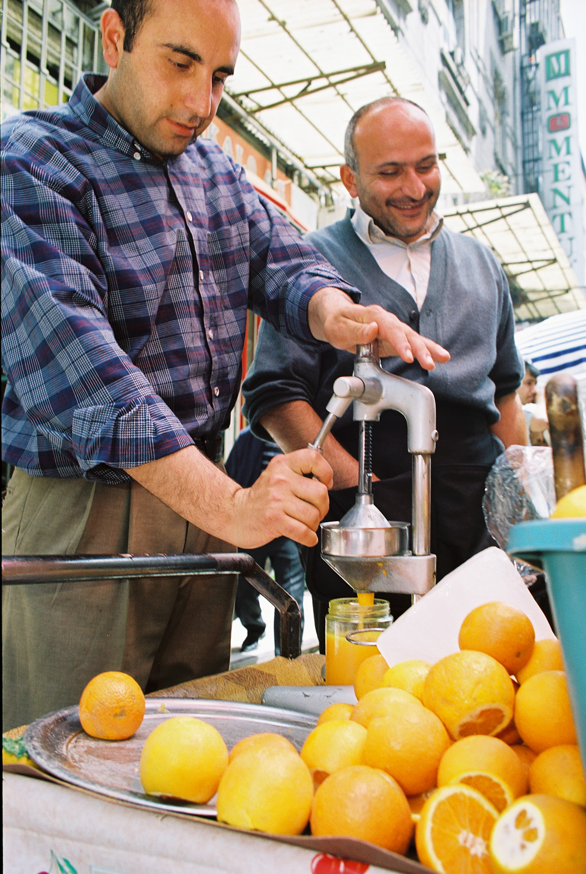 värske apelsiini mahl