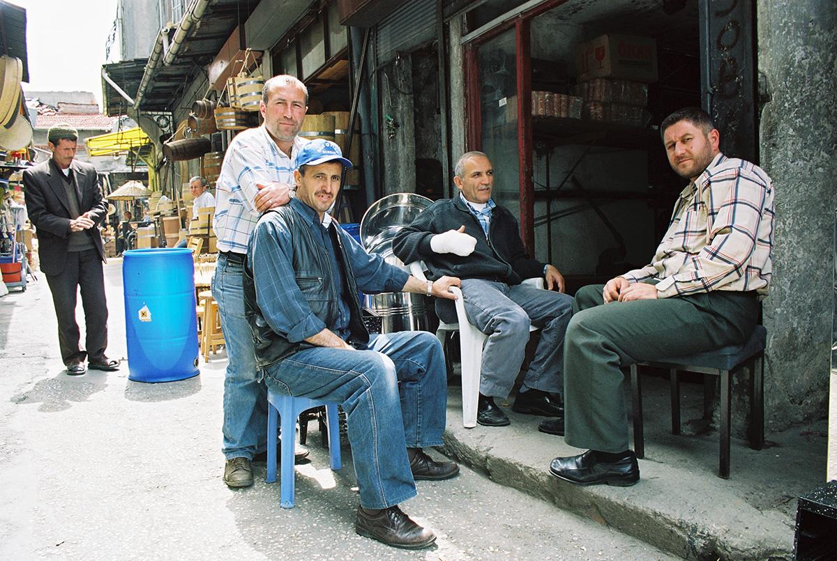 Mehed Grand Bazaarilt