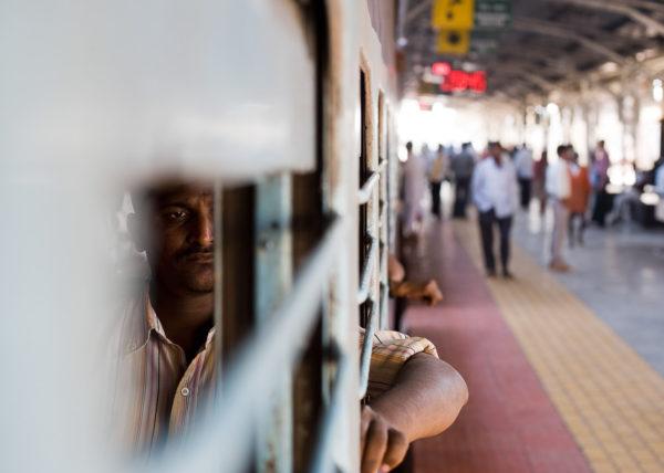 A trip on an Indian train