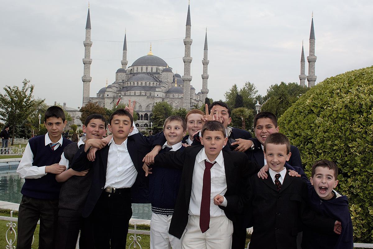 Hagia Sophia ja koolipoisid